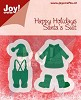 Joy!Crafts - Cutting & Embossing - Kleding Kerstman