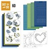 Dot and Do 60 - Blauwe bloemen