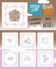 Card Deco - Stitch & Do - Cards only - Set 5