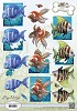 Amy Design - 3D Knipvel - Animal Medley - Tropical Fish