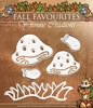 Yvonne Creations - Die - Fall Favourites - Toadstool