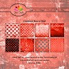 Dixi Craft - Paperpack - Christmas Heart - Red