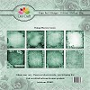 Dixi Craft - Paperpack - Vintage Flowers - Green