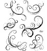 Viva Decor - Clearstamp - Swirls