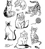 Viva Decor - Clear Stamps - Cats