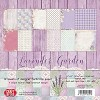 Craft & You Design - Big paper pad - Lavender Garden