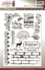 Amy Design - Clearstamp - Christmas Greetings - Tekst