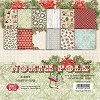 Craft & You Design - Small paper pad 6x6 North Pole