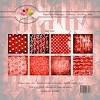 Dixi Craft - Paperpack - Red Stars