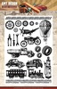 Amy Design - Clearstamp - Vintage Vehicles
