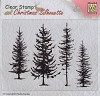 Nellie Snellen - Clearstamp - Pine trees