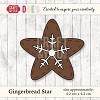 Craft & You Design - Die - Gingerbread Star