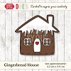 Craft & You Design - Die - Gingerbread House
