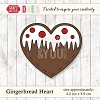 Craft & You Design - Die - Gingerbread Heart