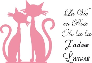 Marianne Design - Die - Collectables - French Cats
