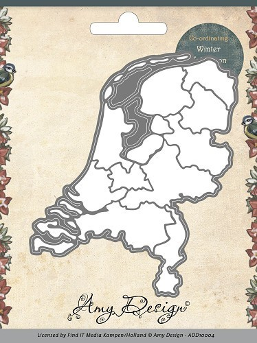 Amy Design - Die - Maps - Netherlands