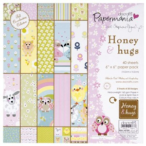 DoCrafts - Paper Pack - Honey & hugs by Stephanie Dyment