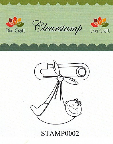 Dixi Craft - Clearstamp - Baby