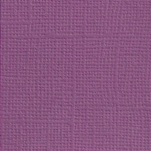 Basic Paper Linnen Cardstock Purple