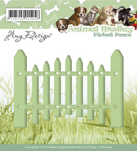 Amy Design - Die - Animal Medley - Picket Fence