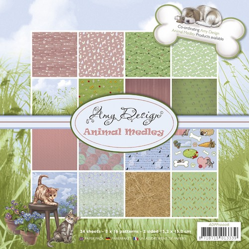 Amy Design - Paperpack - Animal Medley