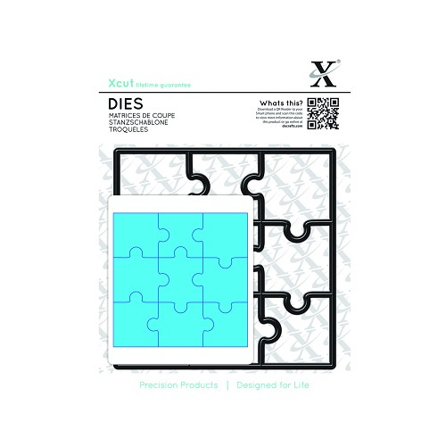 Dies (9pcs) - Jigsaw Pieces