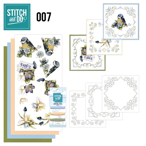 Card Deco - Stitch and Do - Borduurset 7 - Voorjaar