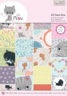 DoCrafts - Paper Pack - Little Meow