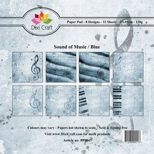Dixi Craft - Paperpack - Sound of Music - Blue