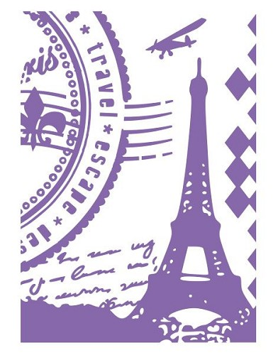Couture Creations - Embossing folder - Grand Paris