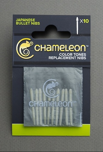 Chameleon replacement bullet tips (10) Japanese Bullet Nibs