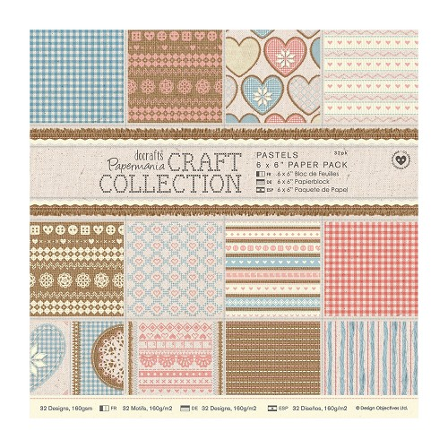 DoCrafts - Paper Pack - Craft Collection - Pastels
