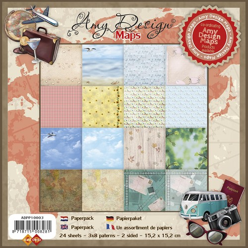 Amy Design - Paperpack - Maps