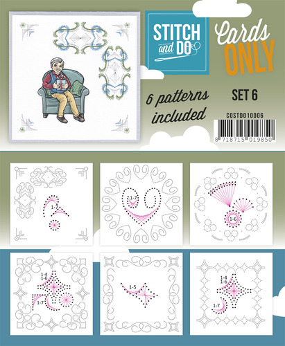 Card Deco - Stitch & Do - Cards only - Set 6