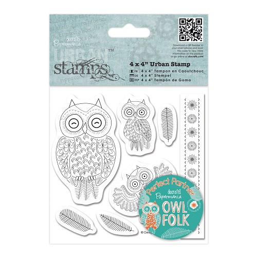 DoCrafts - Urban Stamp - Owl Folk - Characters