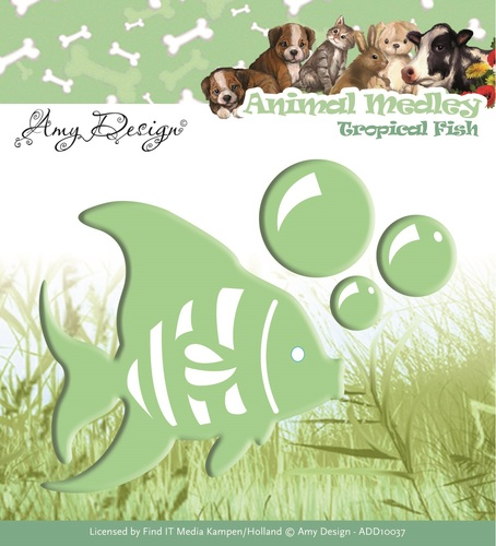 Amy Design - Die - Animal Medley - Tropical Fish