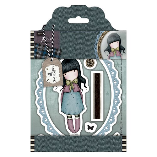 DoCrafts - Rubber Stamps - Santoro Tweed - Waiting