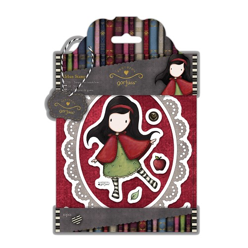 DoCrafts - Urban Stamps (10pcs) - Simply Gorjuss - Little Red