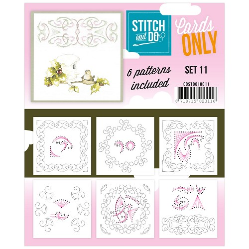 Card Deco - Stitch & Do - Cards only - Set 11