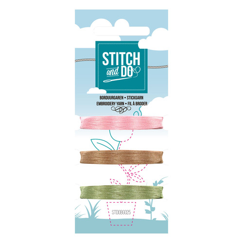 Card Deco - Stitch and Do - Mini Garenkaart 25