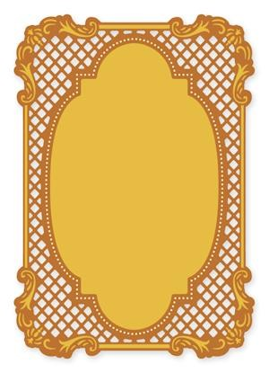 Crafts-Too - Die Cutting & embossing - Rectangle Frame