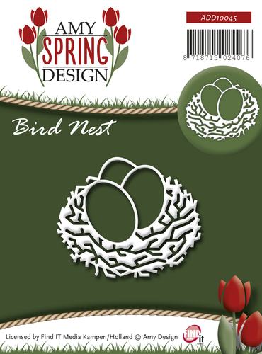 Amy Design - Die - Spring - Bird Nest