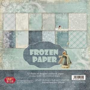 Craft & You Design -  Big paper pad - Frozen Paper