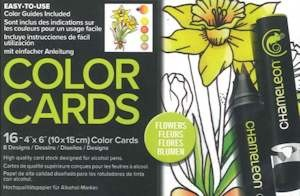 Chameleon Color Card - Flowers