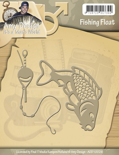 Amy Design - Die - Its a Mans World - Fishing Float