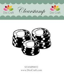 Dixi Craft - Clearstamp - Poker chips