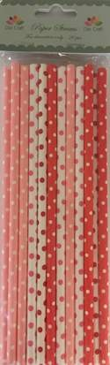 Dixi Craft - Paper Straws - Dots