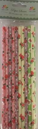 Dixi Craft - Paper Straws - Flowers