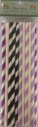 Dixi Craft - Paper Straws - Stripes