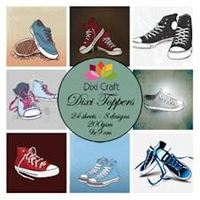 Dixi Craft - Toppers - Shoes